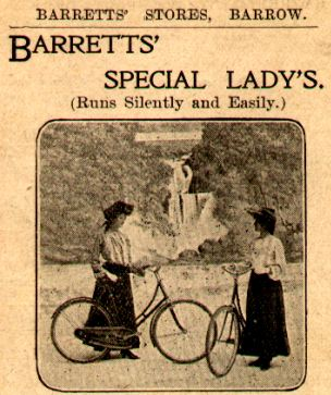 barrett's bicycle